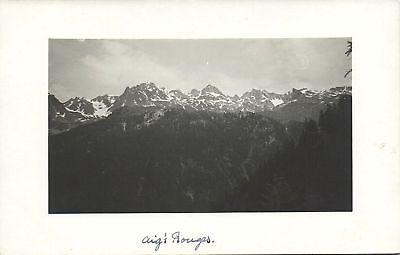 france, Aiguille Rouge, Mountain (1935) RPPC
