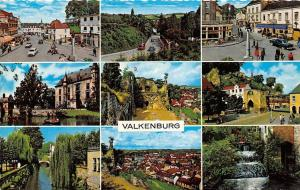 Netherlands Valkenburg multiviews Castle Ruins River Boat Auto Cars Waterfall