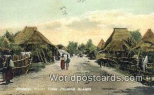 Philippines, Pilipinas Provincial Street Philippine Islands Provincial Street