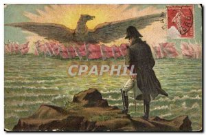 Old Postcard Fancy Napoleon imperial eagle