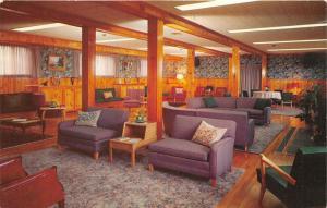 Liberty Corner New Jersey~Fellowship Deaconry Sitting Room~c1960s Postcard