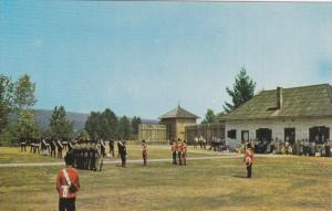 National Historic Park, Changing of the Guard, FORT LANGLEY, British Columbia...