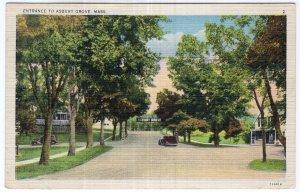 Entrance To Asbury Grove, Mass