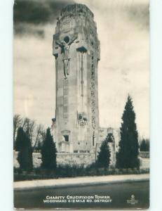 1930's rppc NICE VIEW Detroit Michigan MI i8460