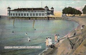 CLEVELAND, Ohio, 1900-10s; Gordan Park, Drive