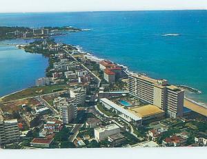 Pre-1980 AERIAL VIEW San Juan Puerto Rico PR A5361