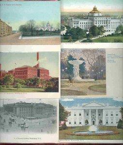 cpc91 postcard collection Washington DC FIFTY