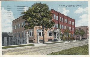 BATAVIA, New York, PU-1916; K.B. Mathes Shell Factory
