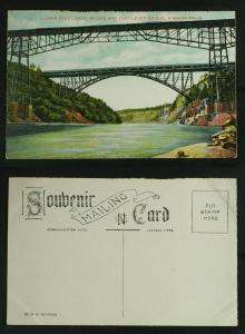 Lower Steel Arch & Cantilever Bridges Niagara Falls c1905-10