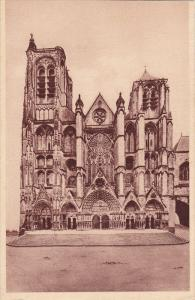 La Cathedrale, BOURGES (Cher), France, 1900-1910s