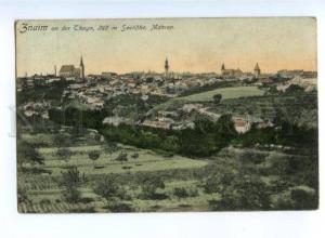175053 Czech Znojmo ZNAIM Mahren View Vintage 1909 postcard