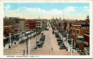Fargo ND~Short Tower on Stilts by Hotel Dakotah~RR Xing~Luger Furniture 1920s PC