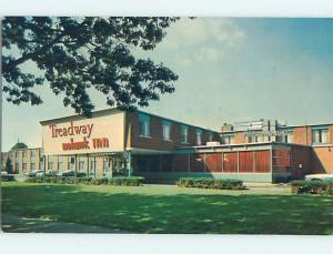 Pre-1980 TREADWAY INN MOTEL Philadelphia Pennsylvania PA hs8951