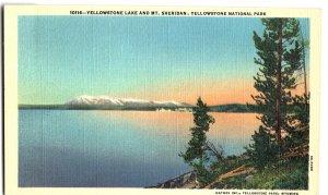 10116-Yellowstone Lake and Mt. Sheridan