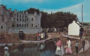 A rear view of Dunvegan Castle at famous Woodleigh Replicas, near Kensington,...