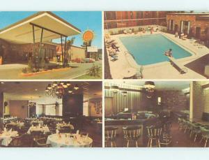 Unused Pre-1980 QUALITY COURTS MOTEL & RESTAURANT Melbourne FL u4817-22