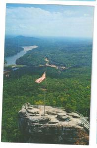 Chimney Rock NC Lake Lure North Carolina Postcard