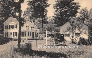 Old Vintage Shaker Post Card The Huntington, Pittsfield Lenox Road Pittsfield...