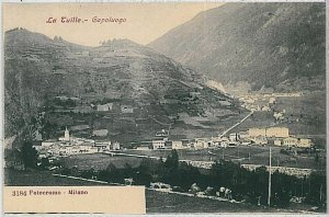 CARTOLINA d'Epoca AOSTA provincia - La Thuile