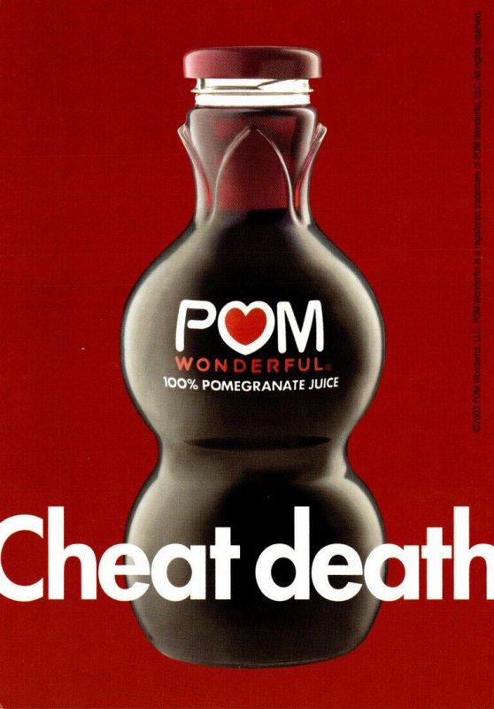 Advertising POM Wonderful 100% Pomegranate Juice