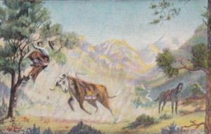 Rough Ranges By Cowboy Artist L H Dude Larsen