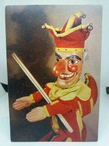Vintage Postcard Mr Punch Pulcinella Tercentenary 1662 -1962 Waldo S Lanchester