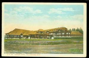WY, Yellowstone National Park,  Wyoming, Canyon Hotel, Gifford