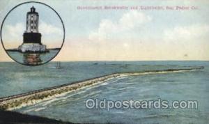 San Pedro, California USA Lighthouse, Lighthouses Postcard Postcards  San Ped...