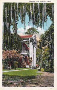 Mississippi Natchez Duncan Park Built In 1815 Curteich