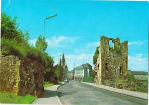 LUXEMBOURG, La Dent creuse, unused Postcard
