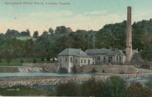 LONDON , Ontario , Canada , 1910 ; Springbank Power House