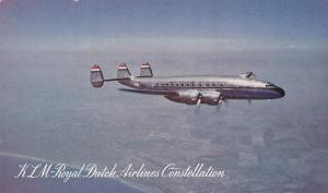 Airplane, KLM - Royal Dutch Airlines Constellation, 1940-1950s