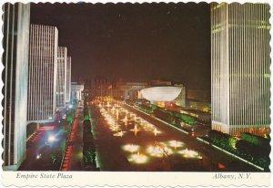Albany NY, New York - Empire State Plaza at Night