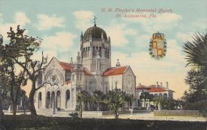 H. M. Flagler's Memorial Church, St. Augustine, Florida, 1900-1910s