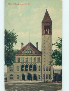 Divided Back CITY HALL SCENE Albany New York NY hs6333