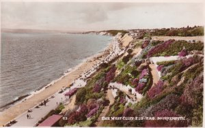 RP; BOURNEMOUTH, Hampshire, England, PU-1951; The West Cliff Zig-Zag