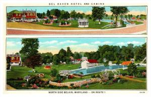 Maryland  Belair , Del Haven Hotel and Cabins