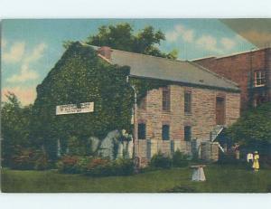 Linen MUSEUM SCENE Fort Smith Arkansas AR ho9821