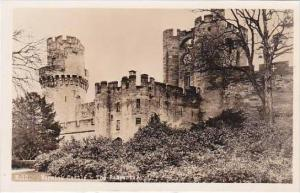 England Warwick Castle The Ramparts Real Photo