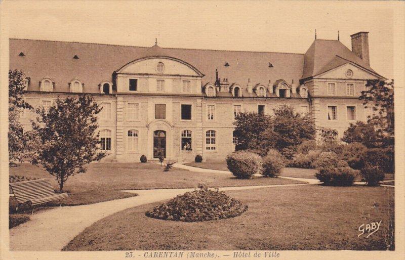 CARENTAN , France , 00-10s ; Hotel de Ville