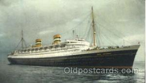 S.S. Nieuw Amsterdam, Holland - America Line Postcard Postcards  S.S. Nieuw A...