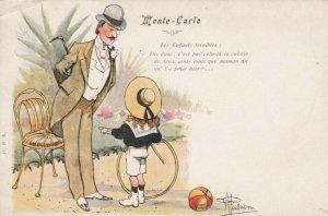 MONTE CARLO , 00-10s; Man & Child