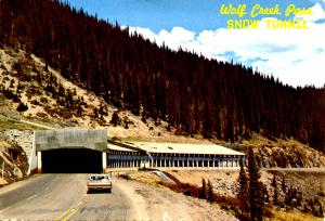 CO - Wolf Creek Pass Snow Shed