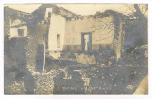 RP  Le Rovine di Ottaiano - Eruzione Aprile 1906 - Il Vesuvio., Italy, Volcan...