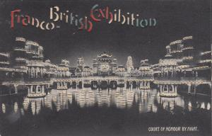 FRANCO BRITISH Exposition, England, 1900-1910's; Hold To Light Postcard