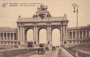 Belgium Bruxelles Arcade du Cinquantenaire