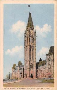 Ontario Ottawa   Peace Tower Parliament Building