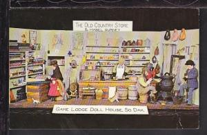 Game Lodge Doll House,Custer State Park,Custer,SD Postcard