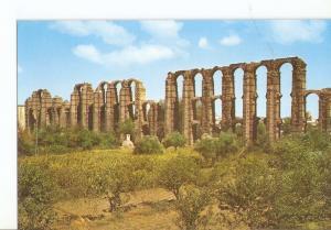 Postal 025666 : Acueducto romano Los Milagros Merida (badajoz)