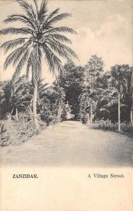 BR57284 Zanzibar A village street    Africa  Tanzania